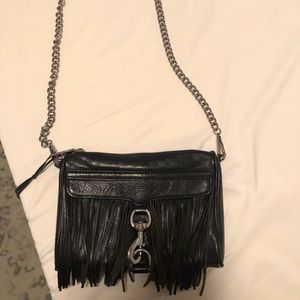 Rebecca Minkoff Mini Mac Crossbody Fringe Bag